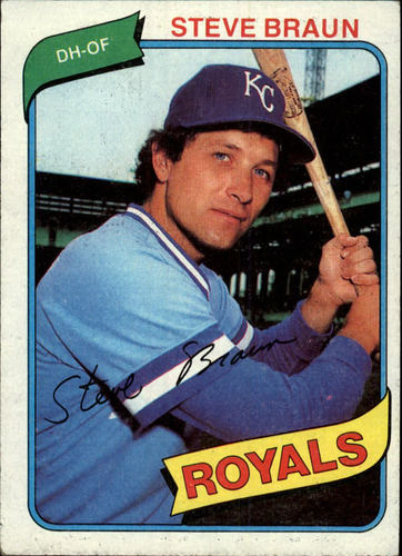 Photo of 1980 Topps #9 Steve Braun