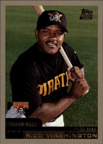 Photo of 2000 Topps Traded #T47 Rico Washington RC