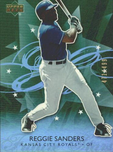 Photo of 2006 Upper Deck Future Stars Green #32 Reggie Sanders /499
