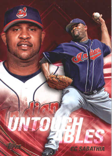 Photo of 2017 Topps Update Untouchables #U7 CC Sabathia