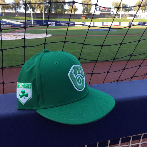 Photo of Taylor Williams 2018 Team-Issued St. Patrick's Day Cap