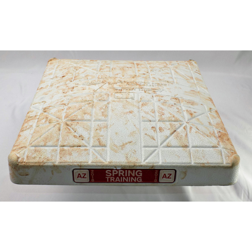 Photo of Texas Rangers Spring Training Game-Used Base
