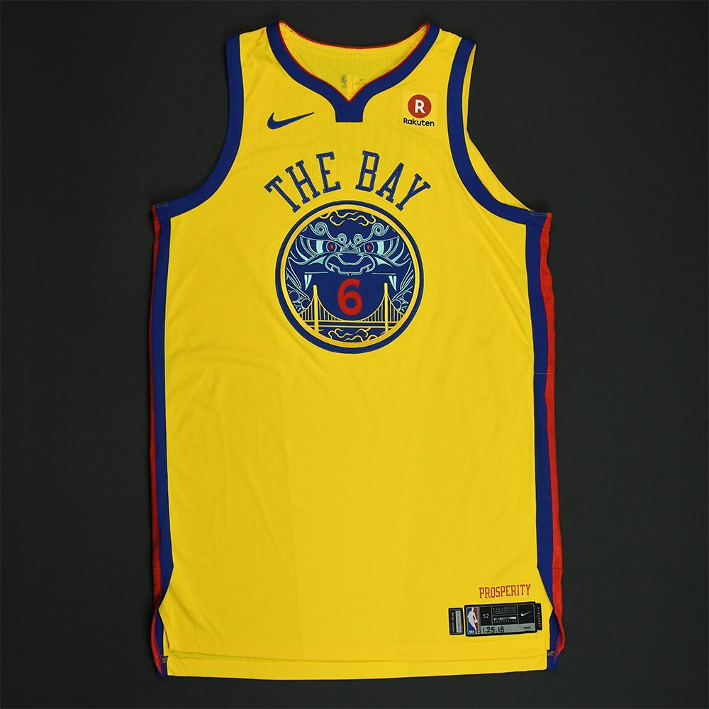 Nick Young - Golden State Warriors - Game-Worn City Jersey - 2017-18 Season