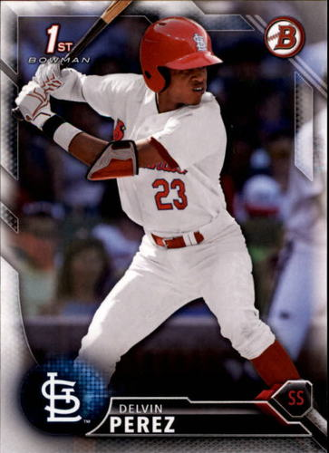 Photo of 2016 Bowman Draft #BD31 Delvin Perez