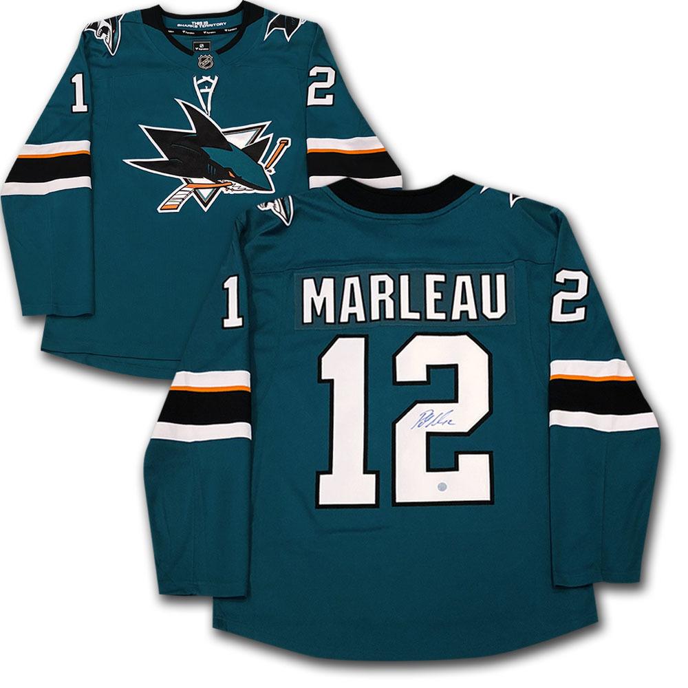 Patrick Marleau Autographed San Jose Sharks Fanatics Jersey