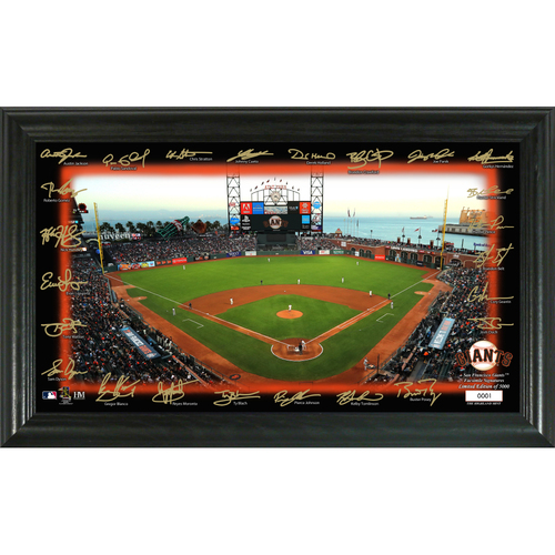 Photo of San Francisco Giants Signature Field Photo Frame