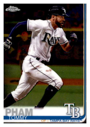 Photo of 2019 Topps Chrome #45 Tommy Pham