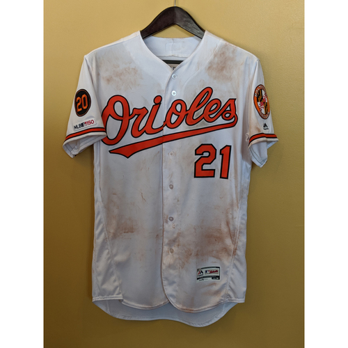 Photo of Austin Hays - Home Jersey: Game-Used