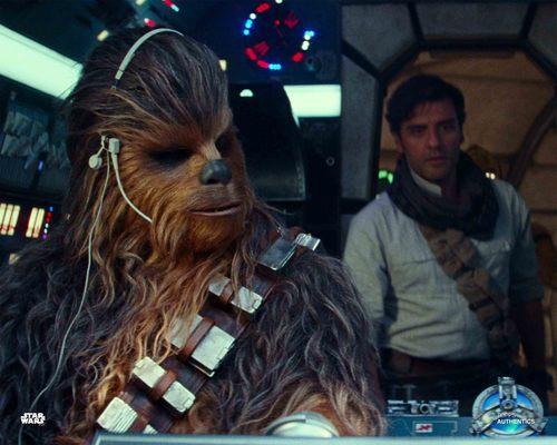 Poe Dameron and Chewbacca