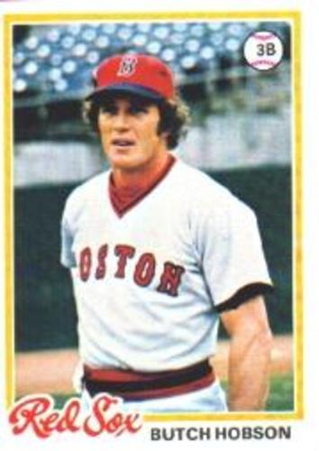 Photo of 1978 Topps #155 Butch Hobson