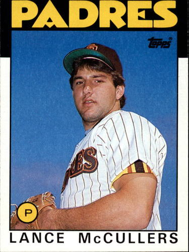 Photo of 1986 Topps #44 Lance McCullers