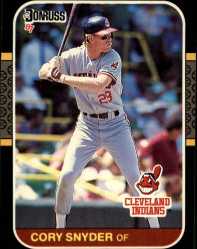 Photo of 1987 Donruss #526 Cory Snyder