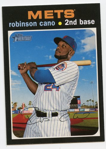 Photo of 2020 Topps Heritage #90 Robinson Cano