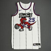 Chris Boucher - Toronto Raptors - Game-Worn Classic Edition 1995-96 Home Jersey - 2019-20 Season