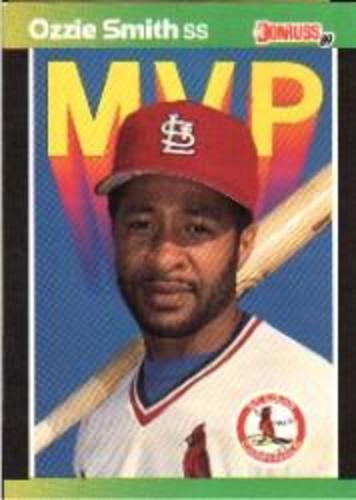 Photo of 1989 Donruss Bonus MVP's #BC14 Ozzie Smith