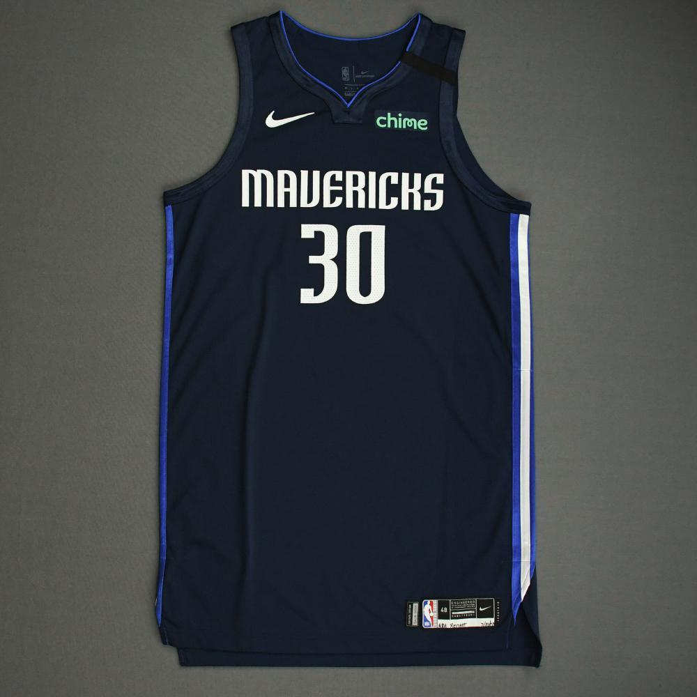 Seth Curry - Dallas Mavericks - Game-Worn Statement Edition Jersey ...