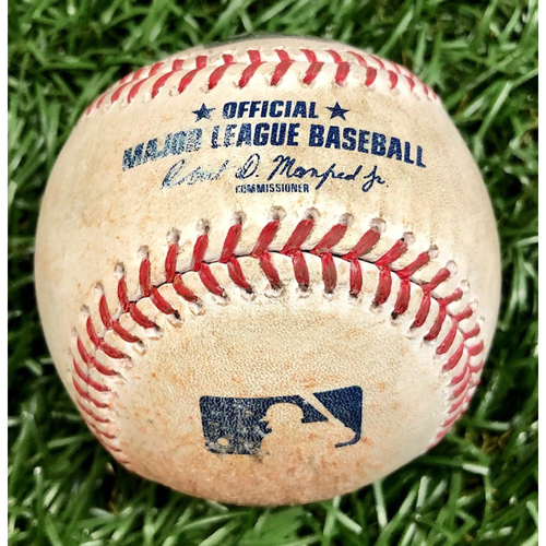 Photo of Game Used Baseball: Michael Chavis foul ball off Blake Snell - September 11, 2020 v BOS