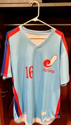 Photo of Jacksonville Expos Fauxback Jersey #16 Size 46