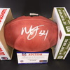 NFL - Steelers Melvin Ingram Signed Authentic Football