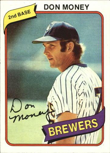 Photo of 1980 Topps #595 Don Money