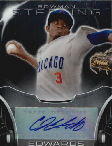 Photo of 2013 Bowman Sterling Prospect Autographs #CE C.J. Edwards