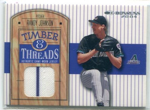 Photo of 2004 Donruss Timber and Threads #15 Randy Johnson Jsy