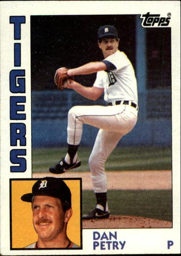 Photo of 1984 Topps #147 Dan Petry