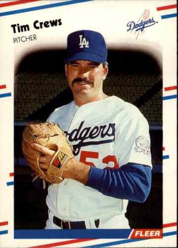 Photo of 1988 Fleer #511 Tim Crews RC