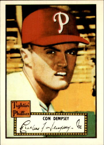 Photo of 1983 Topps 1952 Reprint #44 Con Dempsey