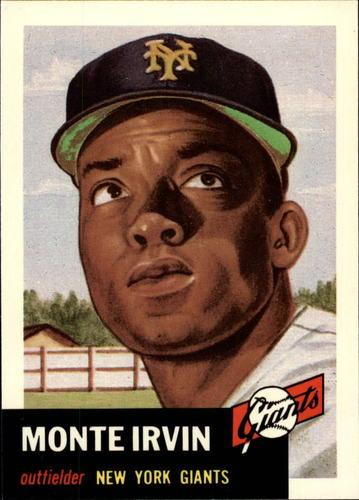 Photo of 1991 Topps Archives 1953 #62 Monte Irvin