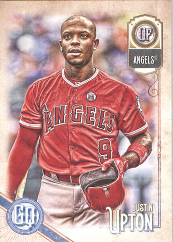 Photo of 2018 Topps Gypsy Queen #153 Justin Upton