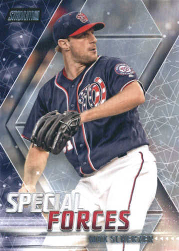 Photo of 2018 Stadium Club Special Forces #SFMS Max Scherzer