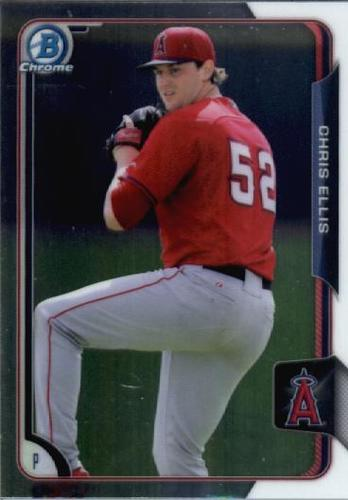 Photo of 2015 Bowman Chrome Draft #132 Chris Ellis