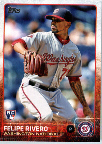 Photo of 2015 Topps Update #US231 Felipe Rivero RC