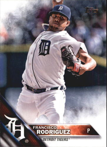 Photo of 2016 Topps Update #US269 Francisco Rodriguez