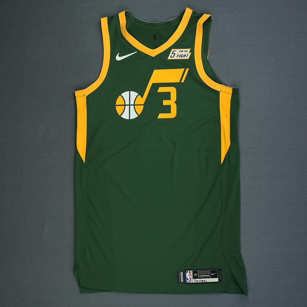 new product ef14f e1f81 Ricky Rubio - Utah Jazz - Christmas Day' 18 - Game-Worn ...
