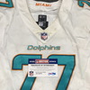 Crucial Catch - Dolphins Jesse Davis game worn Dolphins jersey (October 8, 2017) Size 46