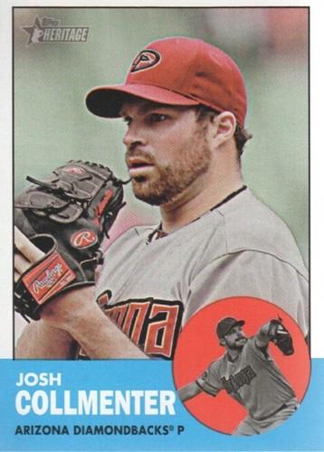 Photo of 2012 Topps Heritage #34A Josh Collmenter