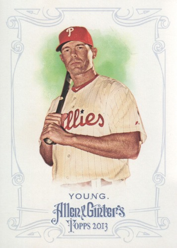 Photo of 2013 Topps Allen and Ginter #257 Michael Young