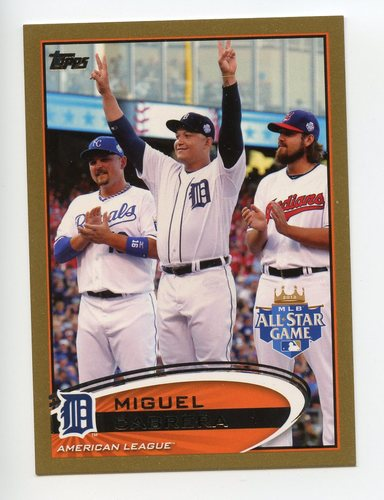 Photo of 2012 Topps Update Gold #US246 Miguel Cabrera