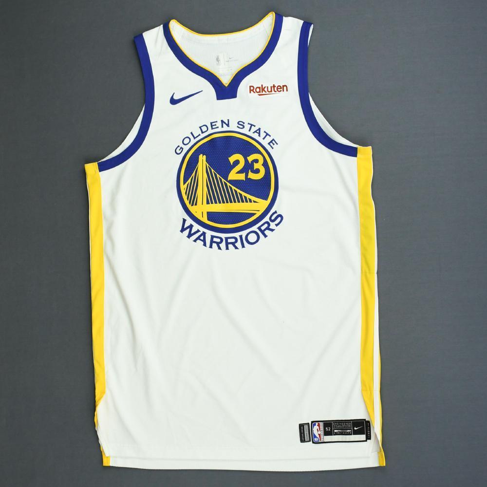 hot sale online 05ccd 2f243 Draymond Green - Golden State Warriors - Game-Worn ...