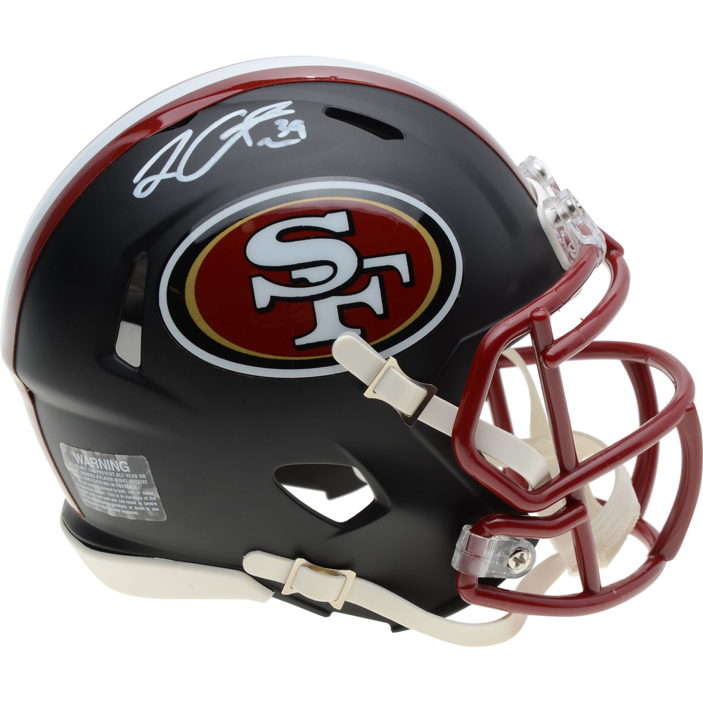 Logan Couture San Jose Sharks Autographed San Francisco 49ers Mini Helmet