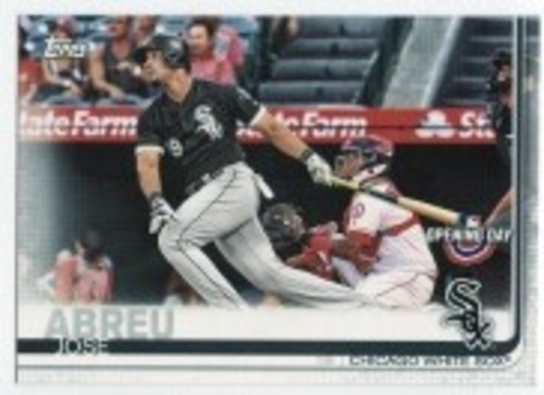 Photo of 2019 Topps Opening Day #37 Jose Abreu