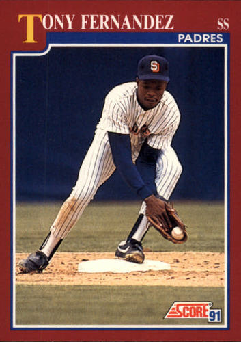 Photo of 1991 Score Rookie/Traded #66T Tony Fernandez