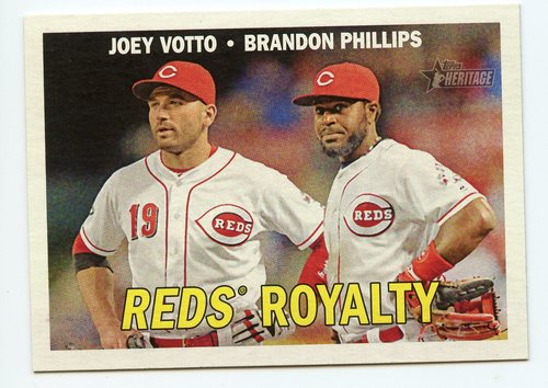 Photo of 2016 Topps Heritage Combo Cards #CC14 Joey Votto/Brandon Phillips