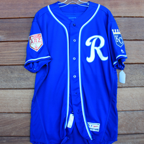 Photo of Game-Used Jersey: Sebastian Rivero (Size 48 - KC vs COL - 2/25/19)