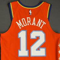Ja Morant - 2020 NBA Rising Stars - Team USA - Game-Worn 1st Half Jersey