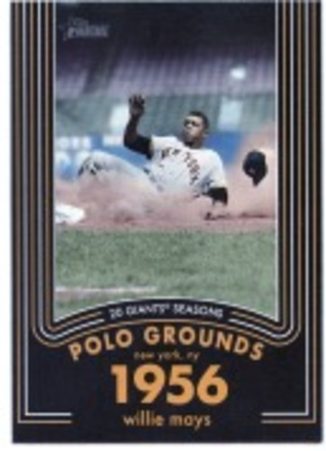 Photo of 2020 Topps Heritage 20 Gigantic Seasons #7 Willie Mays