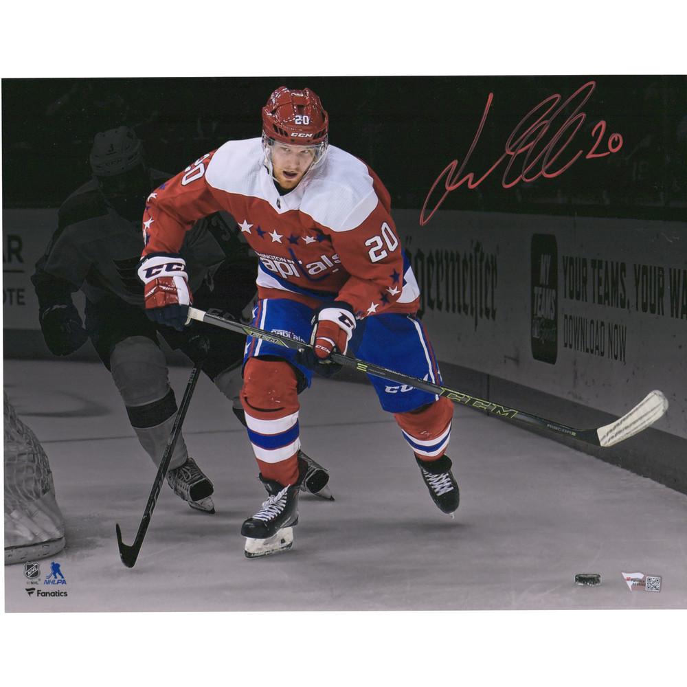 Lars Eller Washington Capitals Autographed 11