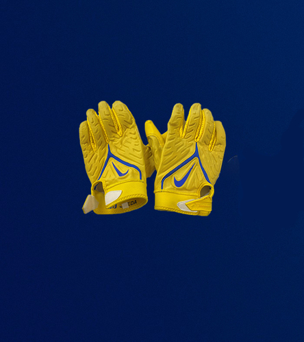 Aaron Donald Game Used Gloves - (9/12/2021 VS. Chicago Bears)